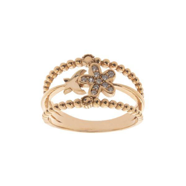 انگشتر طلا 18 عیار زنانه مایا ماهک مدل MR0574