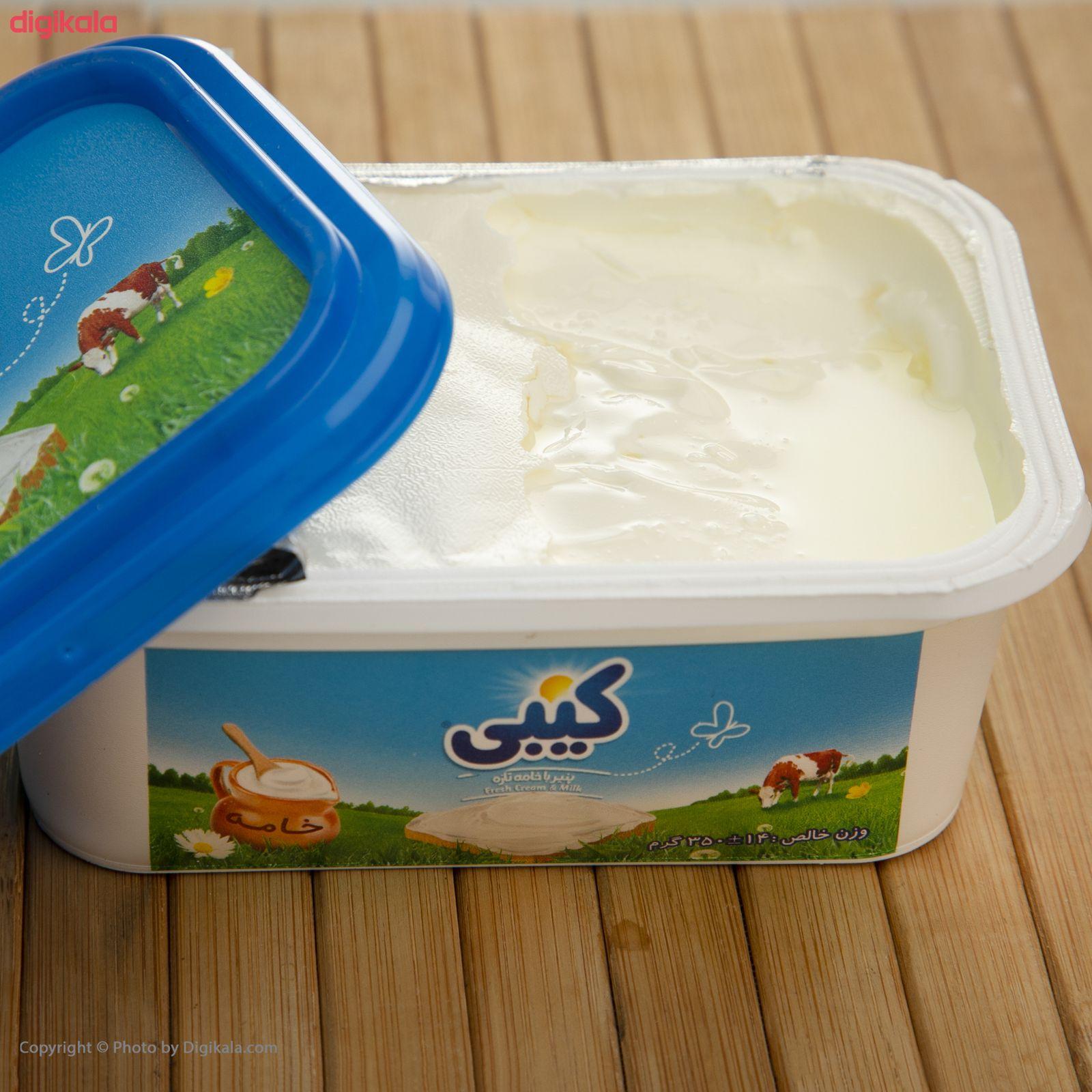پنیر خامه ای کیبی مقدار 350 گرم main 1 5