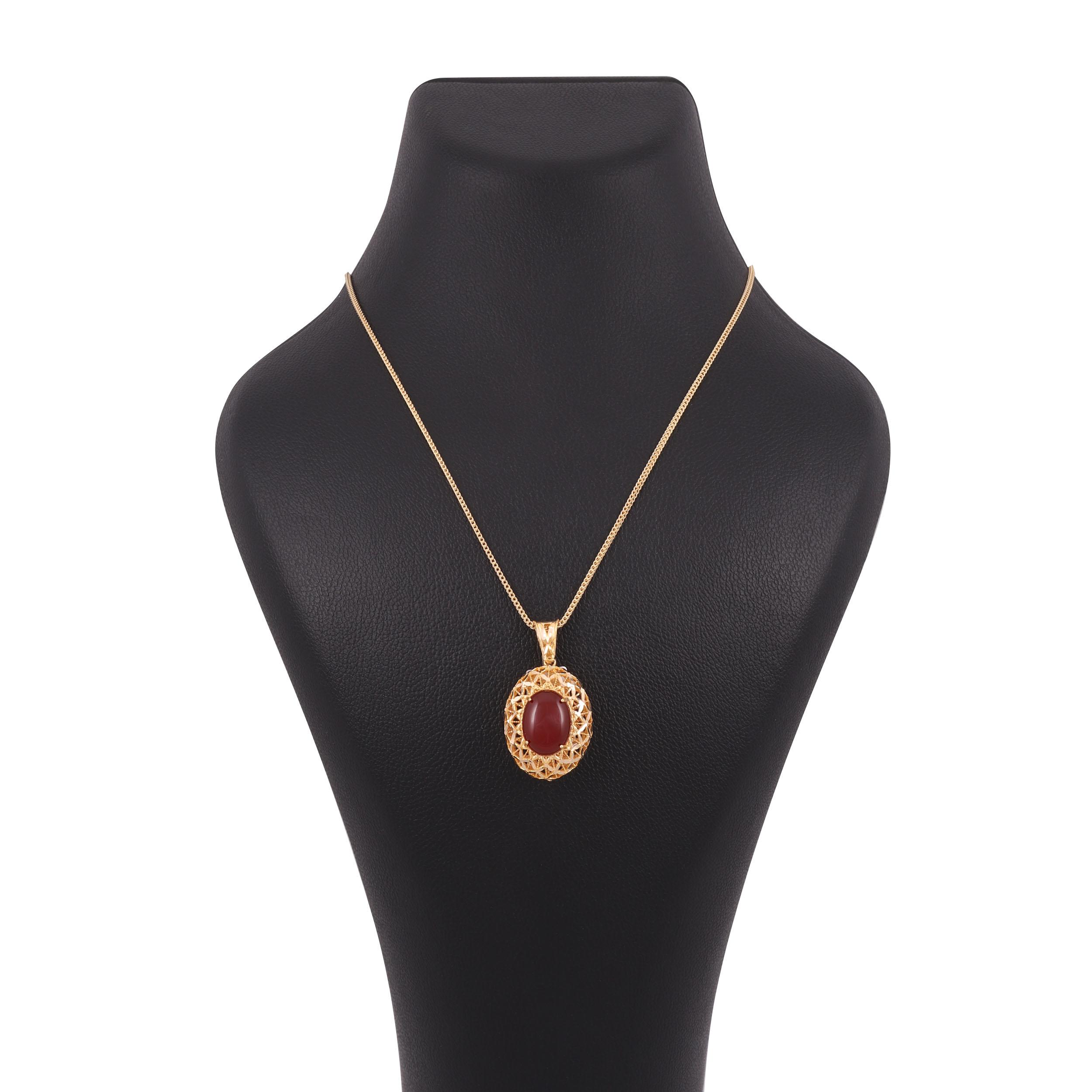 گردنبند طلا 18 عیار زنانه کد G689