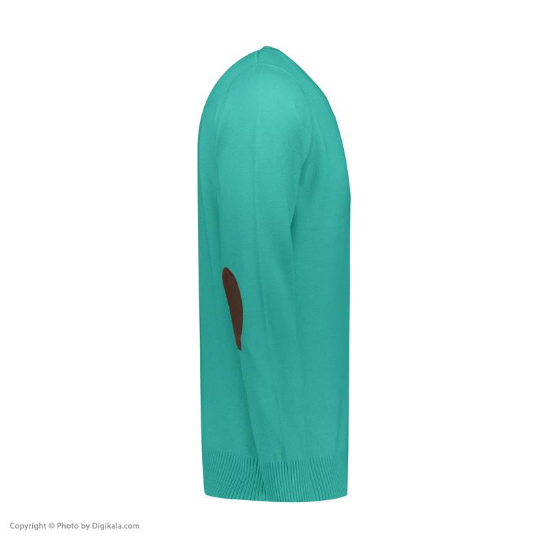 پلیور مردانه پاییزان کد P700 رنگ فیروزهای