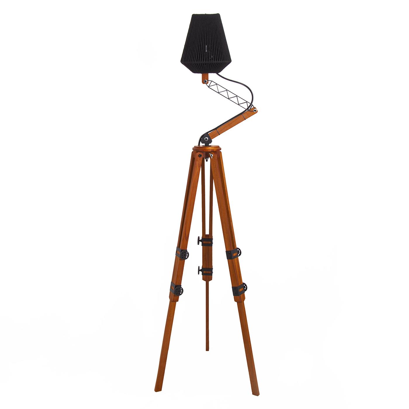 آباژور ایستاده افرانوس مدل Crane01