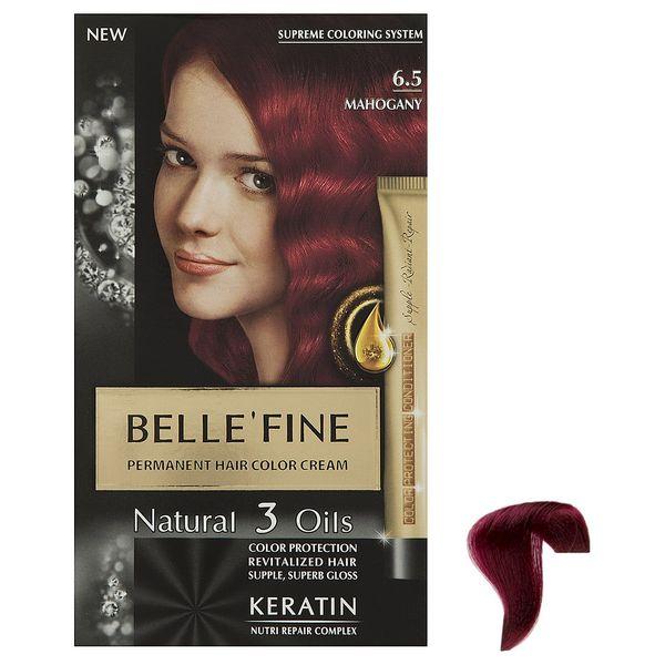 کیت رنگ مو بله فاین سری Natural 3 Oils شماره6.5