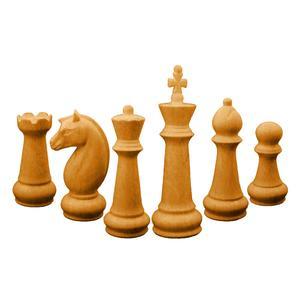 مجسمه جهان آرا مدل مهره شطرنج کد 157 مجموعه شش عددی