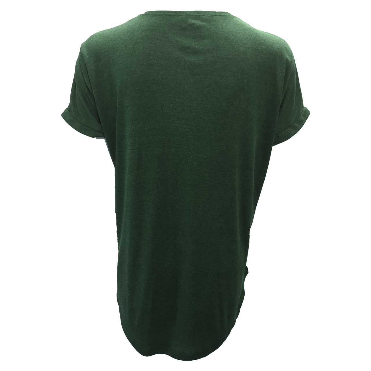 تی شرت آستین کوتاه زنانه مدل butterfly کد tms-1056 رنگ سبز