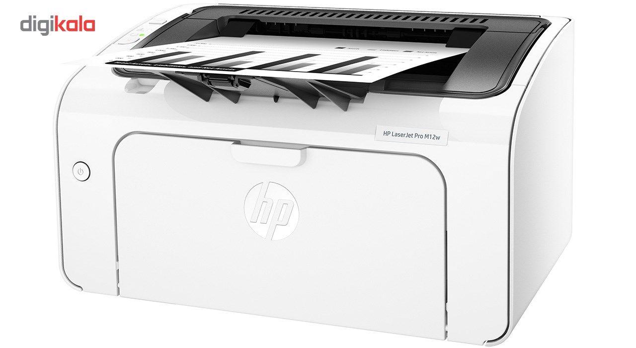 پرینتر لیزری اچ پی مدل LaserJet Pro M12w main 1 1