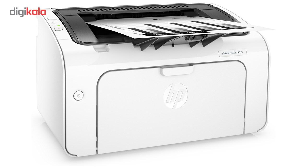 پرینتر لیزری اچ پی مدل LaserJet Pro M12w
