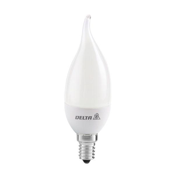 لامپ ال ای دی 7 وات دلتا مدل اشکی پایه E14