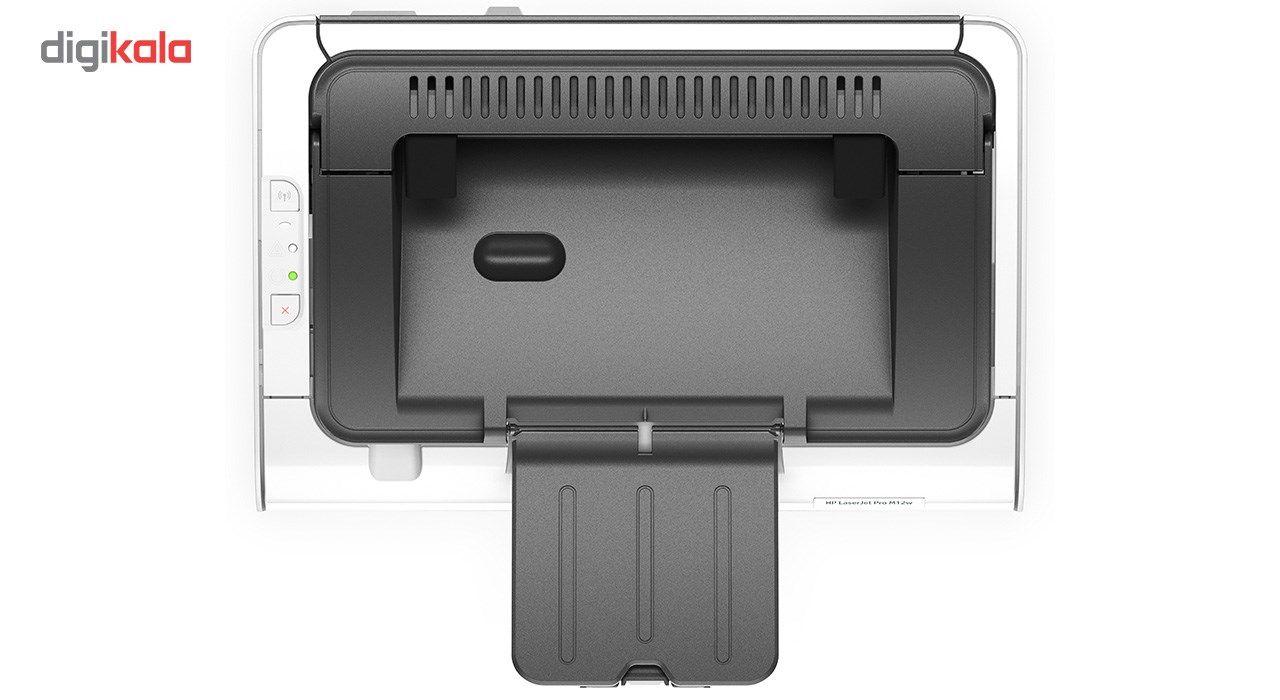 پرینتر لیزری اچ پی مدل LaserJet Pro M12w main 1 4