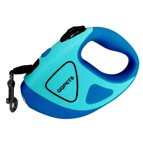 بند قلاده سگ کیو کیو پت مدل lks2030-blueblue