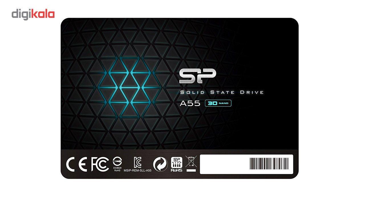 اس اس دی اینترنال SATA3.0 سیلیکون پاور مدل Ace A55 ظرفیت 256 گیگابایت main 1 1
