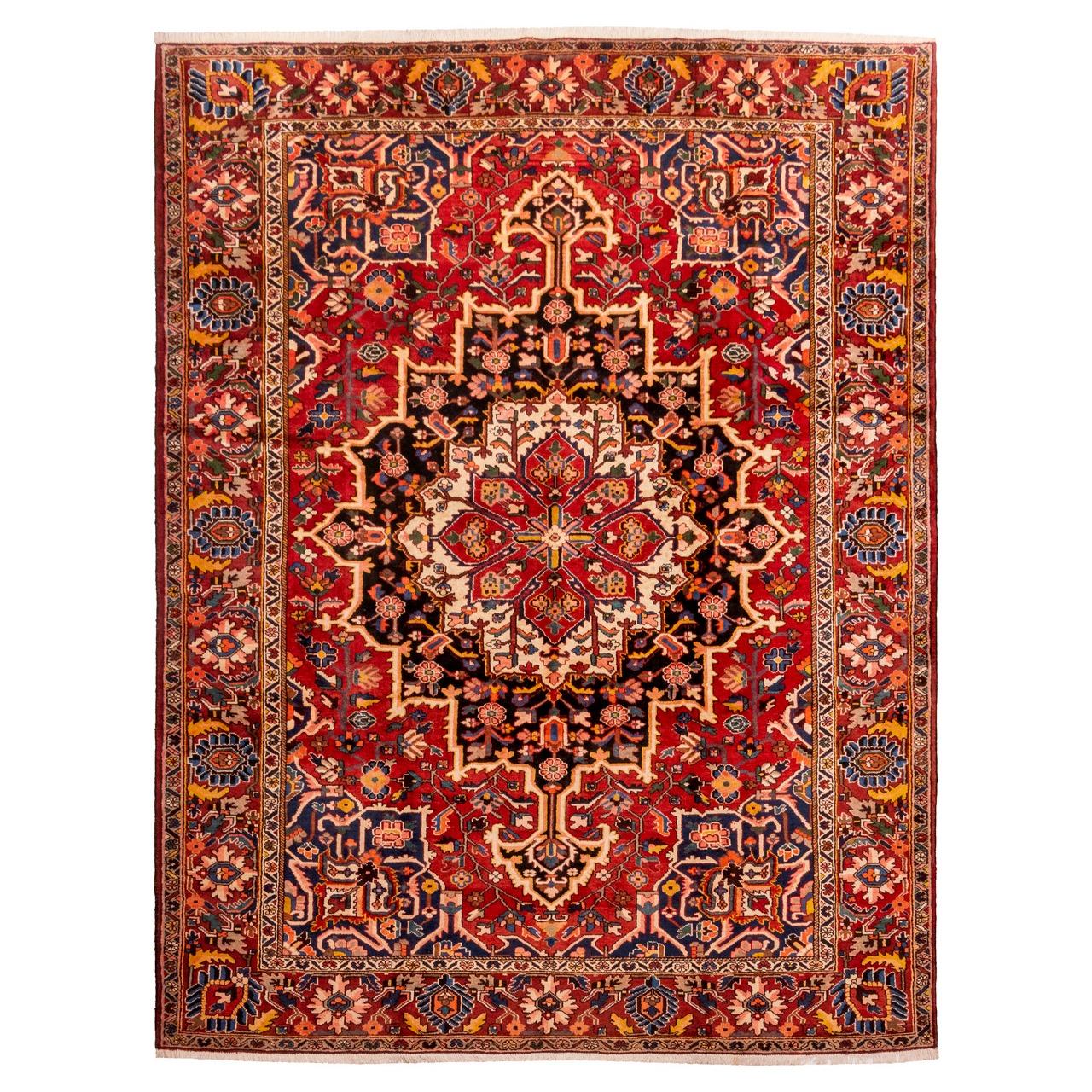 فرش قدیمی دستباف دوازده و نیم متری سی پرشیا کد 102410