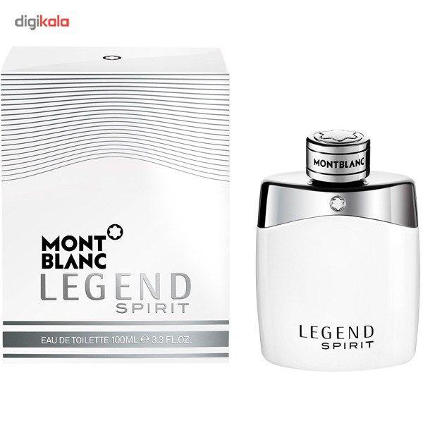 ادو تویلت مردانه مون بلان مدل Legend Spirit حجم 100 میلی لیتر main 1 2