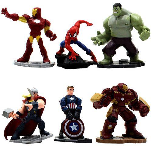فیگور واته مدل Avengers مجموعه 6 عددی