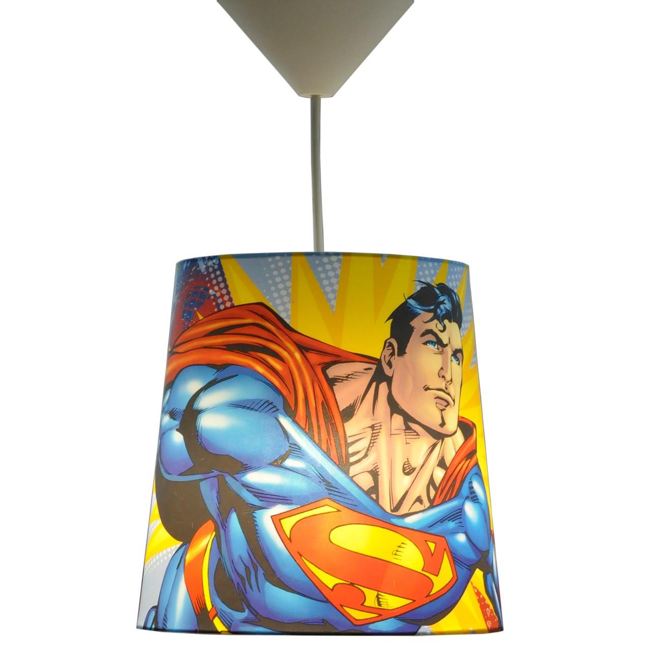 چراغ آویز کودک دکوفان 1 شعله طرح Superman