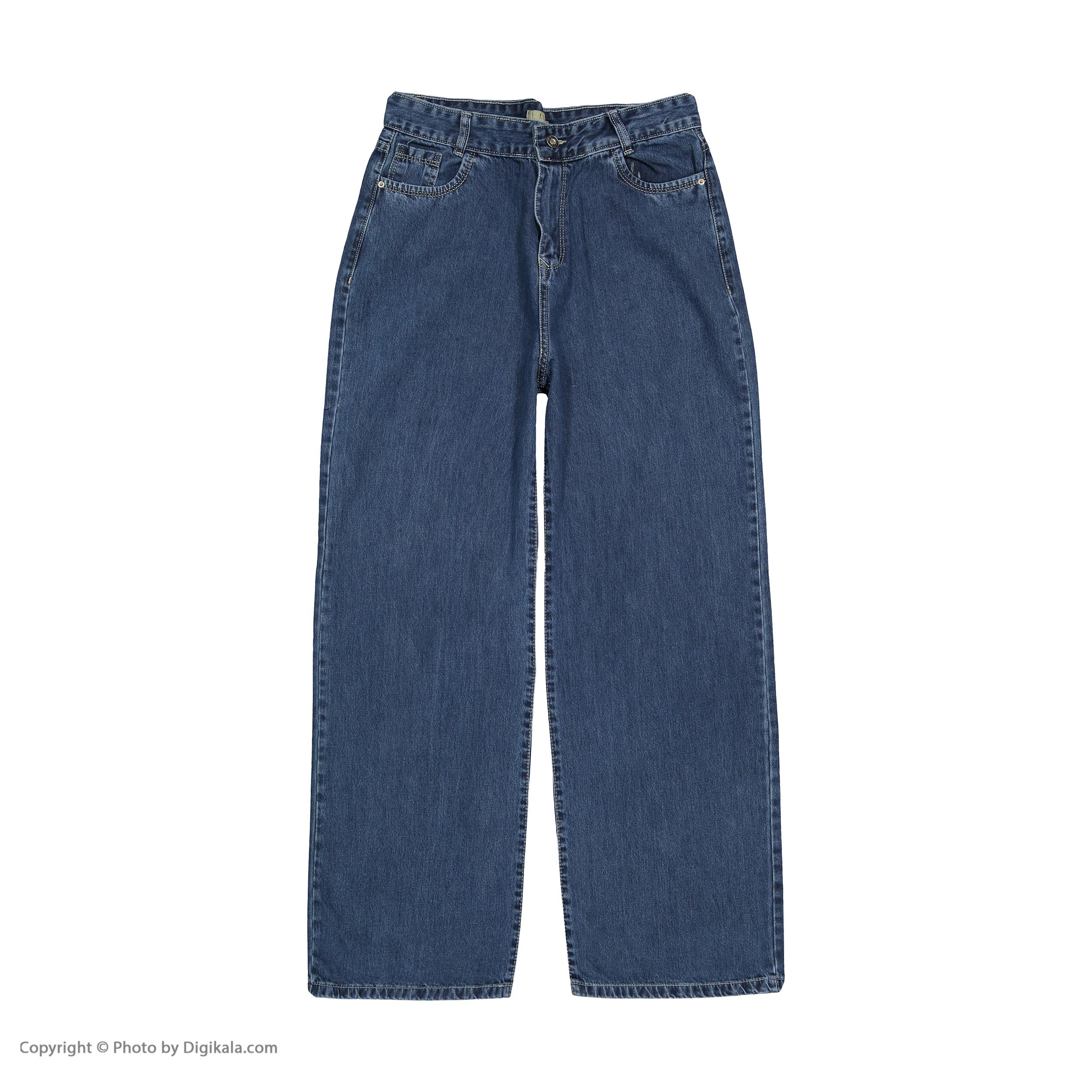 شلوار جین زنانه کیکی رایکی مدل BB3354-200 -  - 3