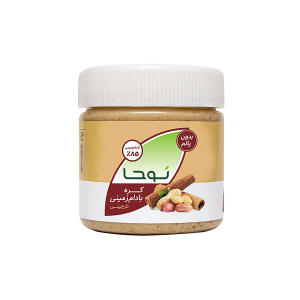 کره بادام زمینی دارچینی نوحا - 250 گرم