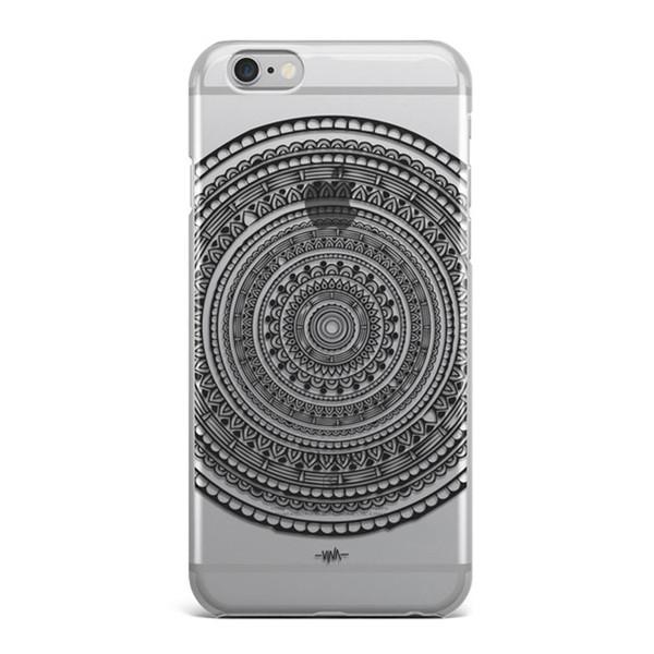 کاور سخت  مدل Black Mandala  مناسب برای گوشی موبایل آیفون 6 و 6 اس