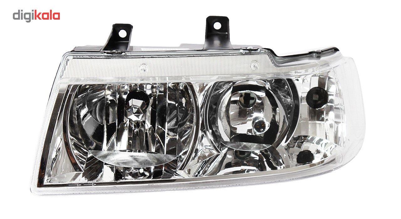 چراغ جلو چپ خودرو اس ان تی مدل SNTSMHL مناسب برای سمند main 1 1