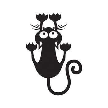 استیکر کلید پریز طرح گربه بسته 2 عددی