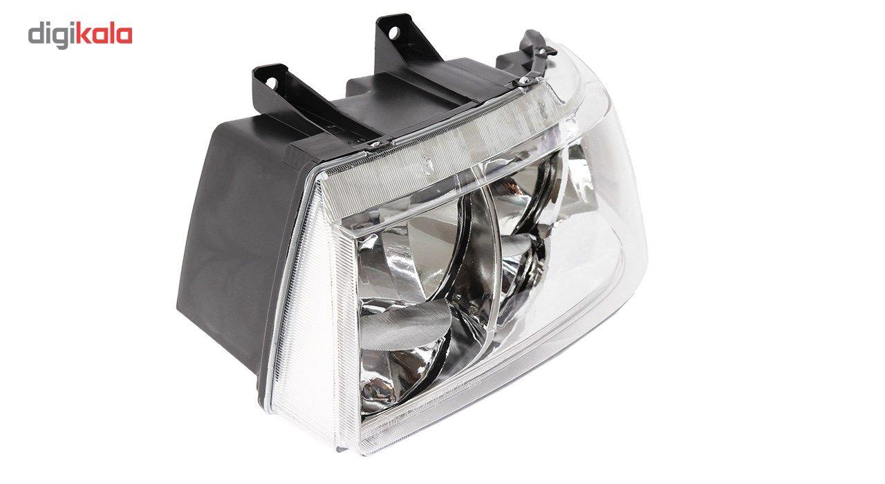 چراغ جلو چپ خودرو اس ان تی مدل SNTSMHL مناسب برای سمند main 1 2