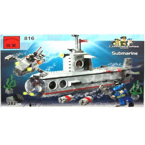 لگو زیردریایی انلایتن مدل 816 تعداد 382 قطعه