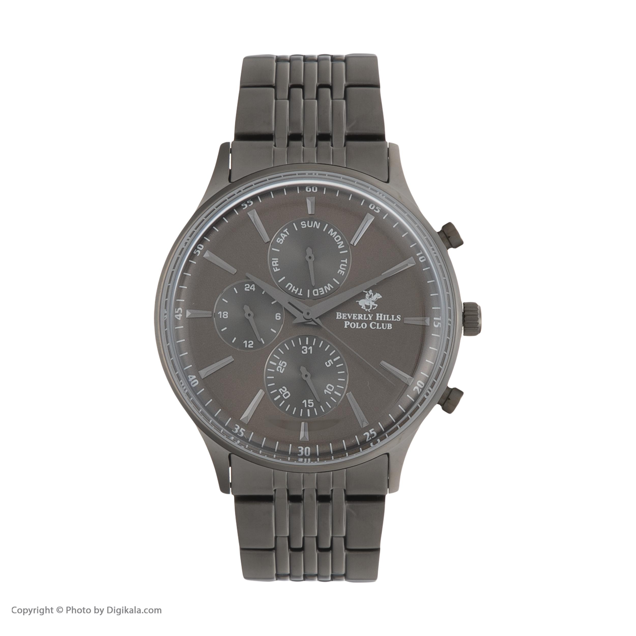 ساعت مچی عقربهای مردانه بورلی هیلز پولو کلاب مدل BP3050X.060