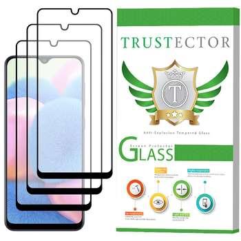 محافظ صفحه نمایش سرامیکی تراستکتور مدل CMT مناسب برای گوشی موبایل سامسونگ Galaxy A30s بسته 3 عددی
