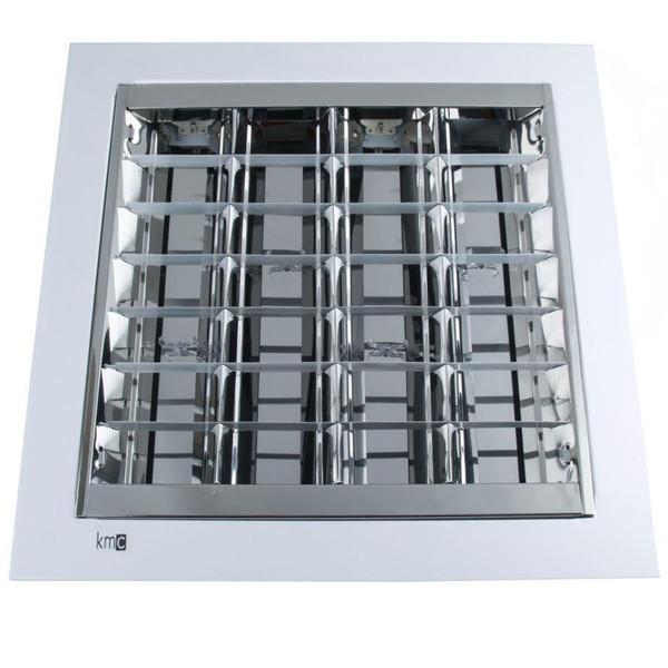 پنل 4x36 FPL کی ام سی مدل سقفی توکار60X60 پایه 2G11
