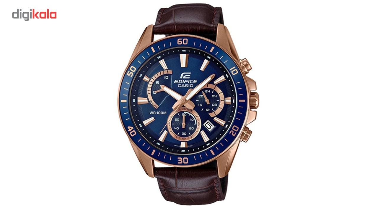 خرید ساعت مچی عقربه ای مردانه کاسیو مدل EFR-552GL-2AVUDF
