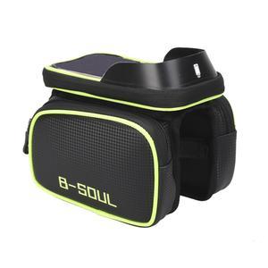 کیف تنه دوچرخه بی سول مدل چسبدار کد BS 02