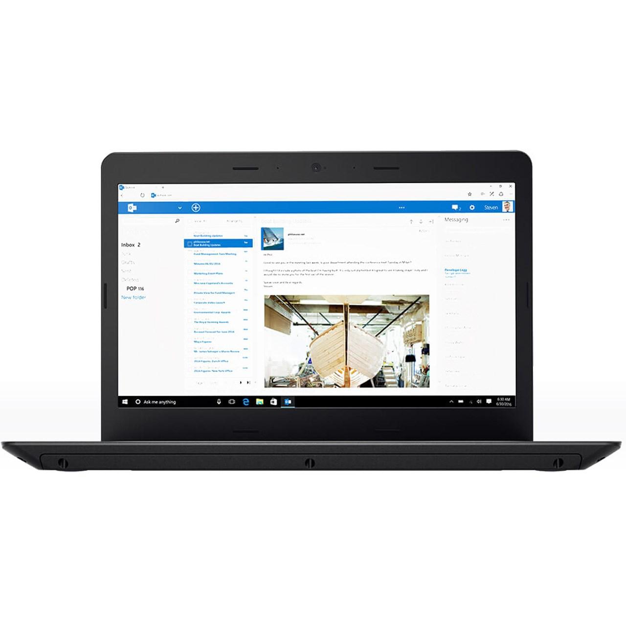 لپ تاپ 14 اینچی لنوو مدل ThinkPad E470 - B