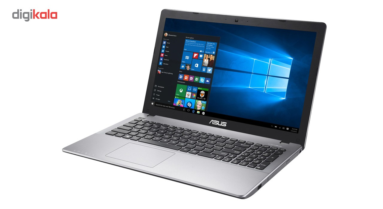 لپ تاپ 15 اینچی ایسوس مدل X550VQ - D