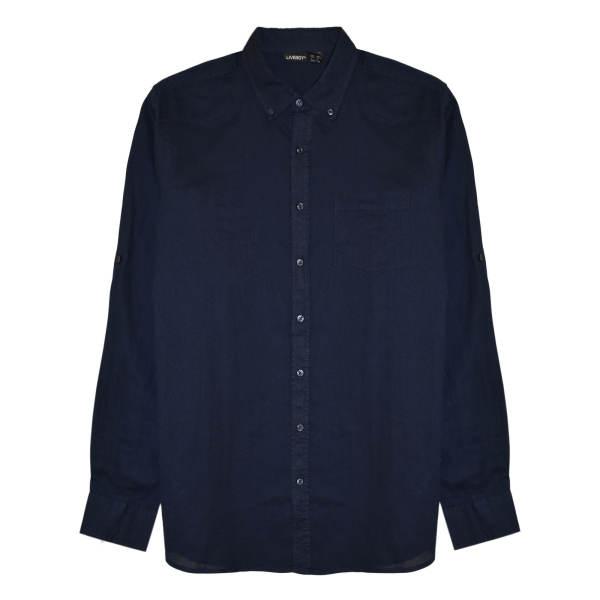 پیراهن آستین بلند مردانه لیورجی مدل 3257641