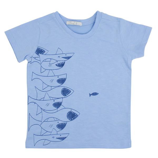 تی شرت آستین کوتاه پسرانه فیورلا مدل 31026