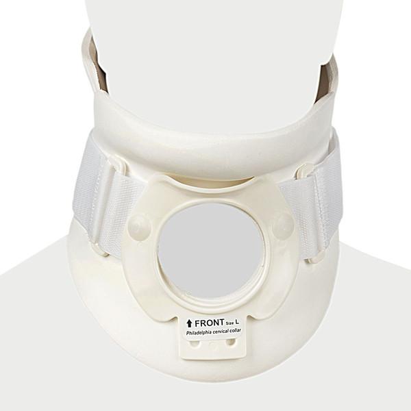 گردن بند طبی پاک سمن مدل Philadelphia With Trachea Opening سایز بزرگ