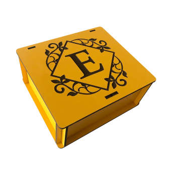 جعبه هدیه چوبی مدل j124
