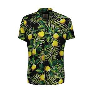 پیراهن پسرانه مدل هاوایی لیمو