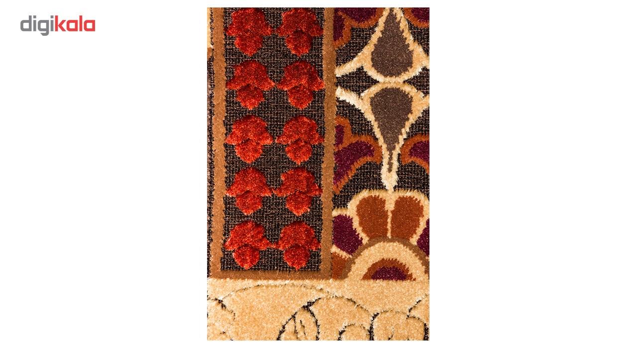 فرش ماشینی شاهکار مشهد طرح شنل 9798