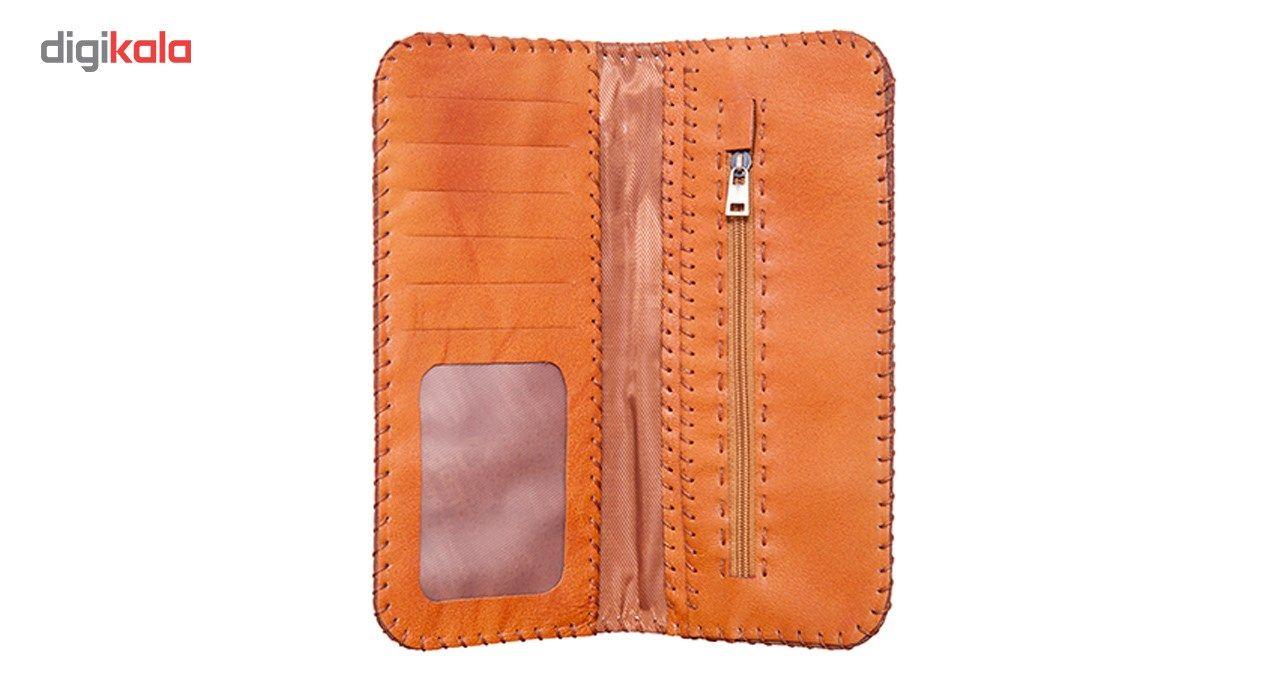 کیف پول چرم طبیعی تیکیش مدل TW01 main 1 2