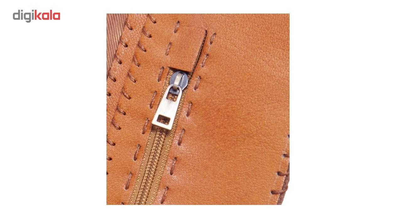 کیف پول چرم طبیعی تیکیش مدل TW01