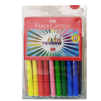ماژیک رنگ آمیزی 30 رنگ فابرکاستل مدل rainbow کد 45F