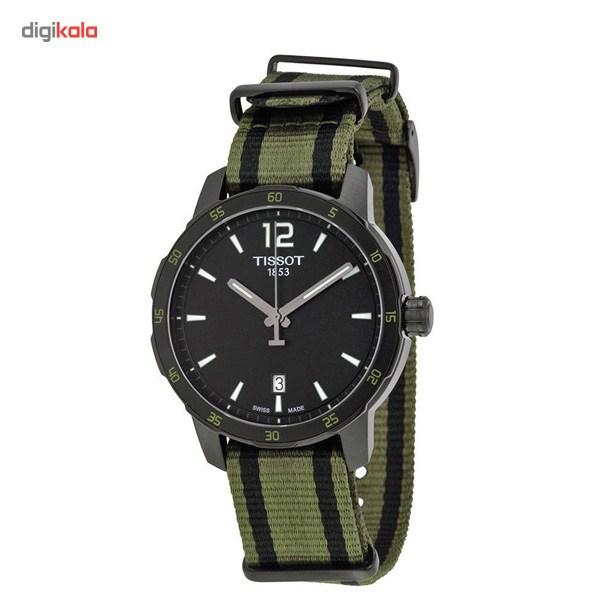 ساعت مچی عقربه ای مردانه تیسوت مدل Quickster T095.410.37.057.00