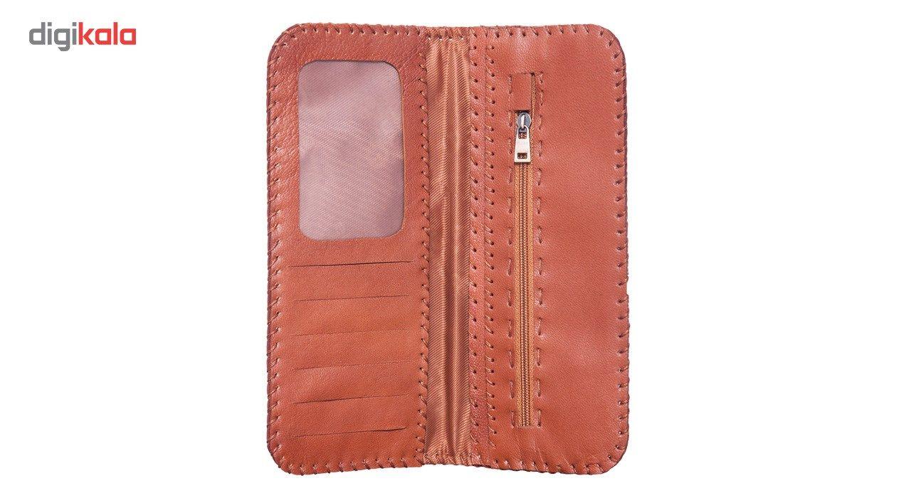 کیف پول چرم طبیعی تیکیش مدل TW01 main 1 5
