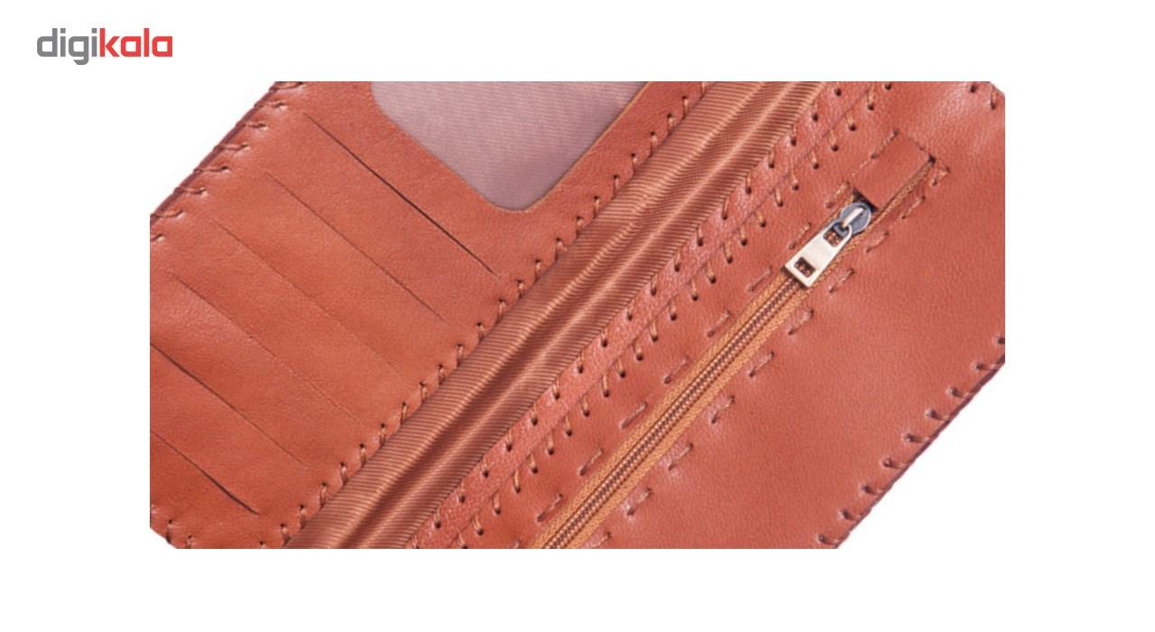 کیف پول چرم طبیعی تیکیش مدل TW01 main 1 6