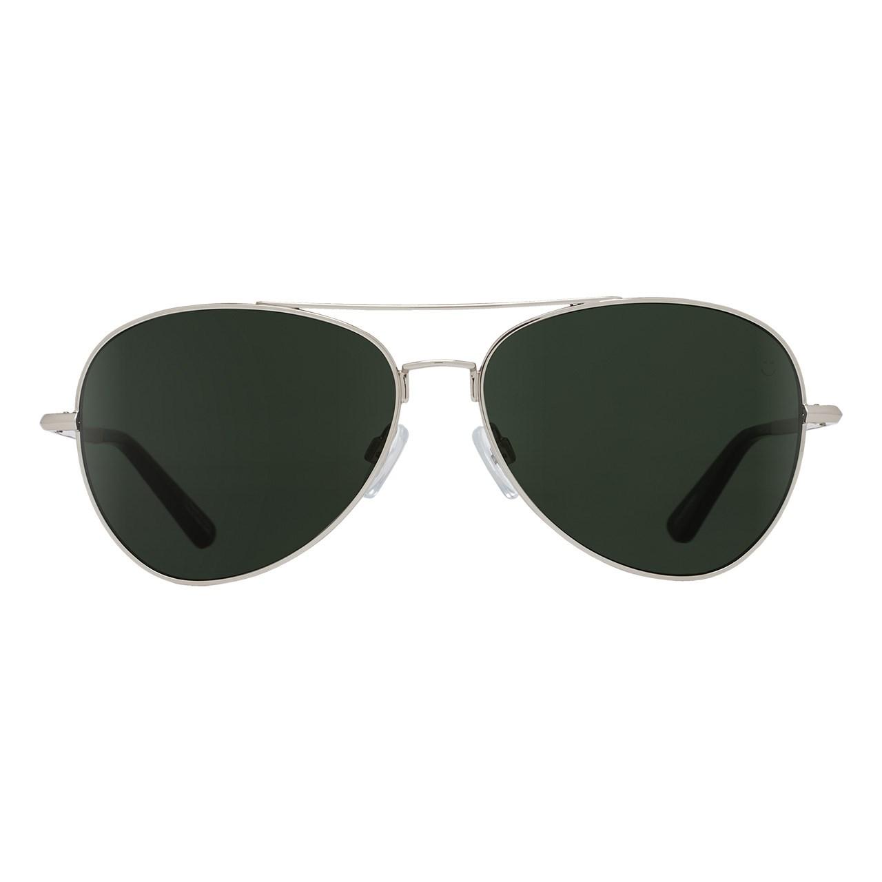 عینک آفتابی اسپای سری Whistler مدل Silver Happy Gray Green Polar