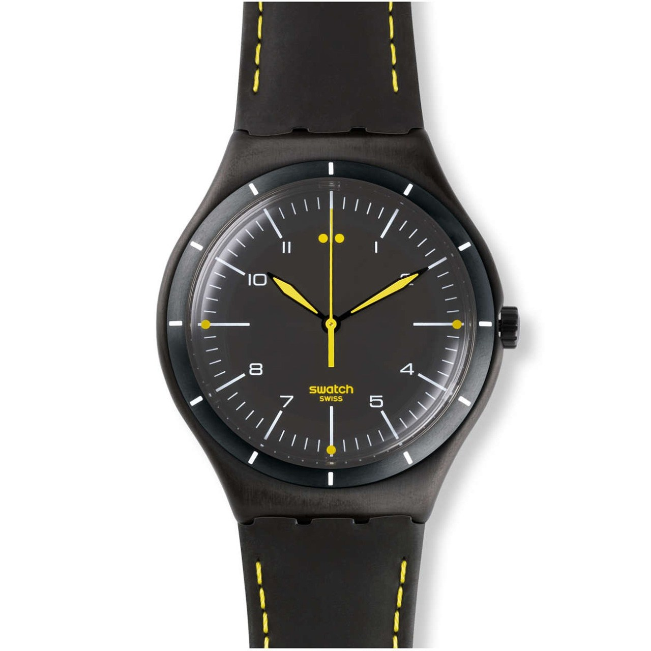 ساعت مچی عقربه ای مردانه سواچ مدل YWB100 43