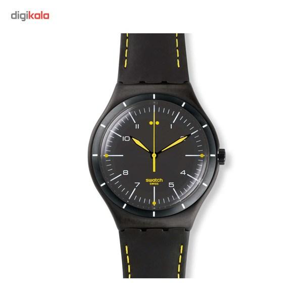 خرید ساعت مچی عقربه ای مردانه سواچ مدل YWB100