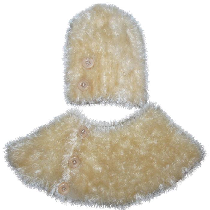 ست کلاه و شال گردن بافتنی زنانه مدل  T-2015