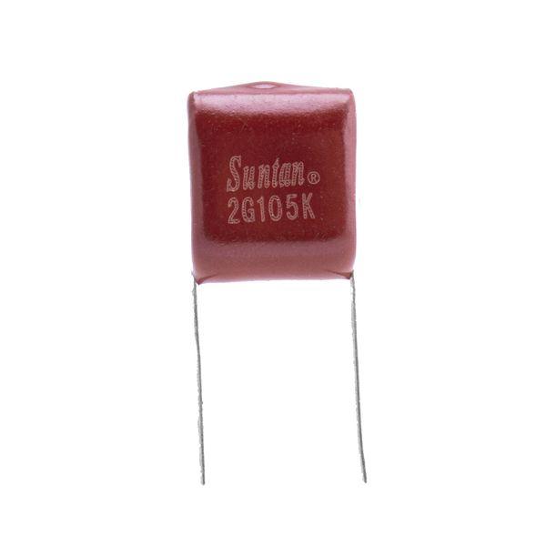 خازنپلی استر 1 میکرو فاراد مدل 2G 105K بسته 10 عددی