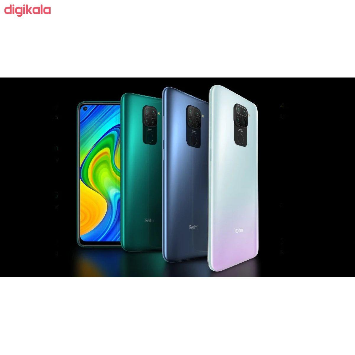 گوشی موبایل شیائومی مدل Redmi Note 9 M2003J15SG دو سیم کارت ظرفیت 128 گیگابایت و رم 4 گیگابایت main 1 3
